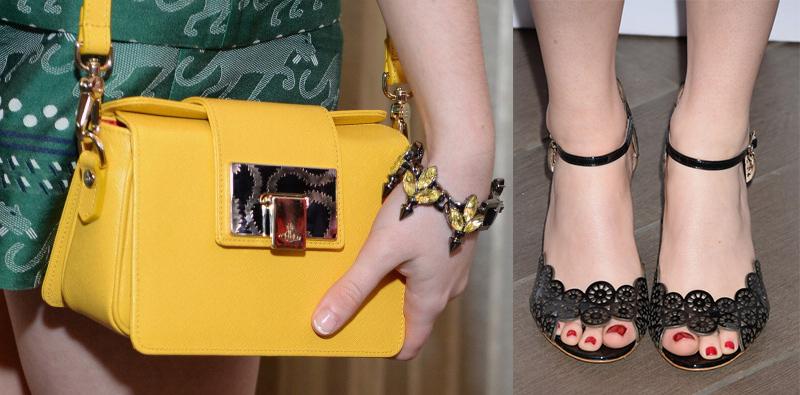 туфли и сумочка Мэйси Уильямс