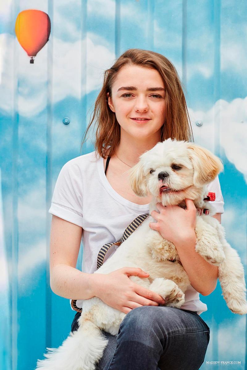 40 необычных фотографий за 2016 год с Мэйси Уильямс - Арьей Старк
