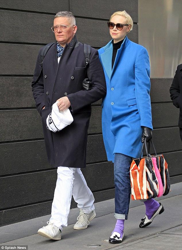 Гвендолин Кристи со своим мужчиной
