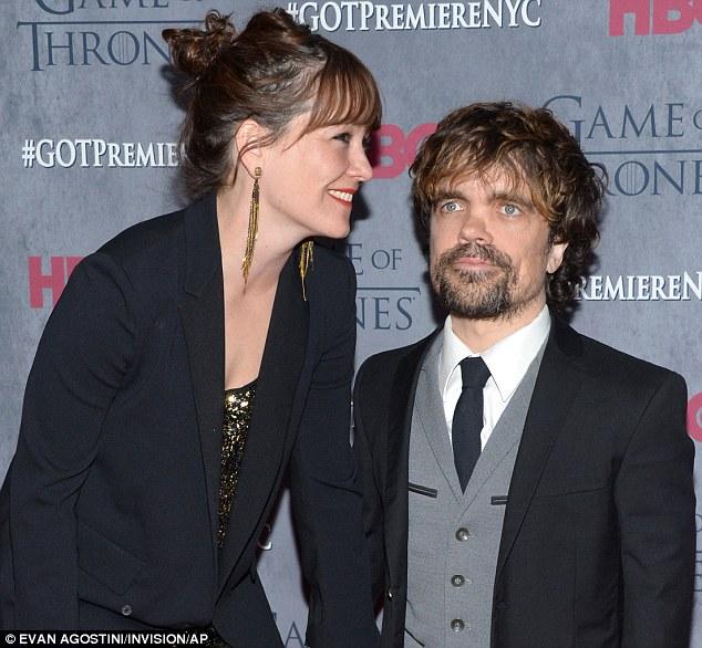Динклэйдж с женой