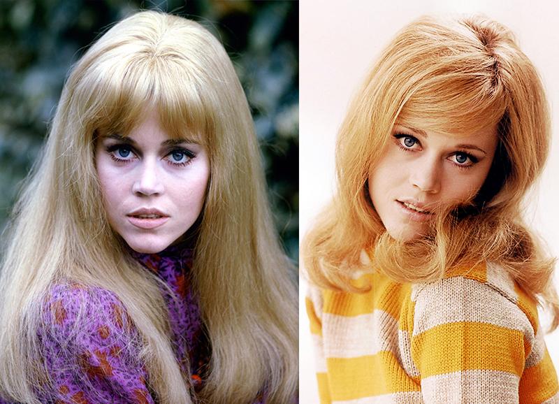 Джейн Фонда самая красивая блондинка Голливуда