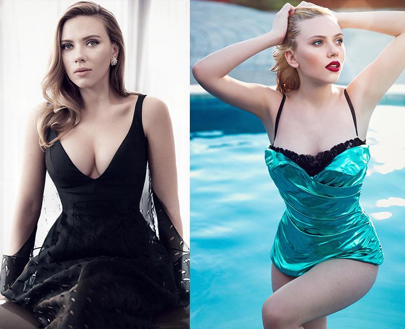 Скарлетт Йоханссон самая красивая и сексуальная блондинка Голливуда