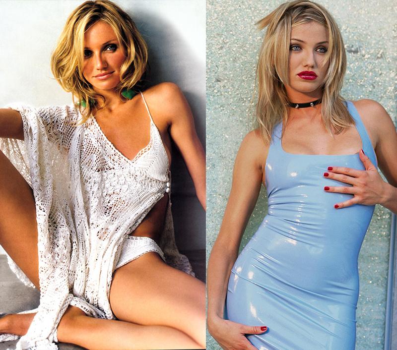 Кэмерон Диаз - одна из красивейших блондинок