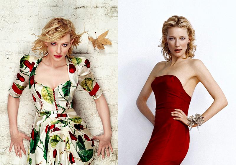 Кейт Бланшет изящная блондинка Голливуда