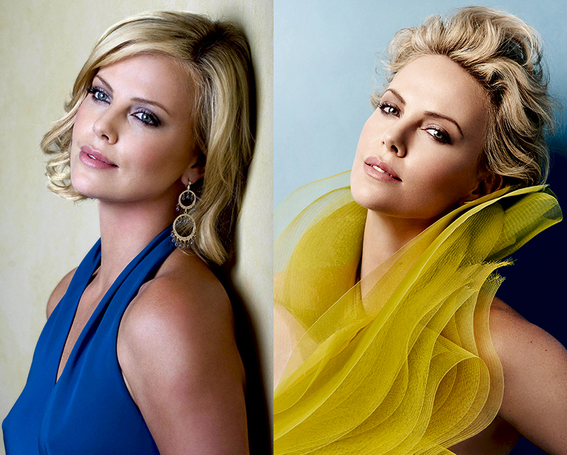 Шерлиз Терон самая красивая блондинка актриса