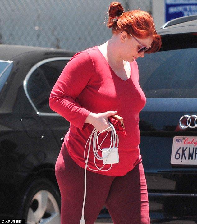 Брайс Даллас Ховард поправилась и потолстела после родов и беременности