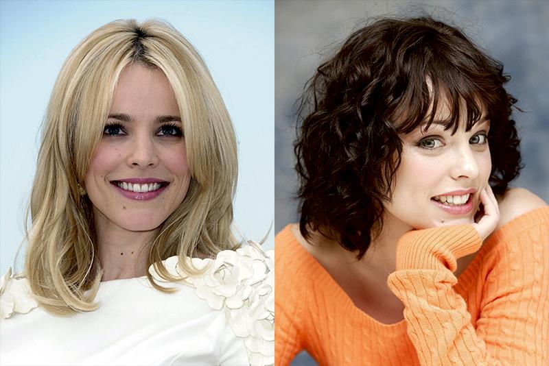 Рэйчел МакАдамс из брюнетки в блондинку и еще 34 другие актрисы