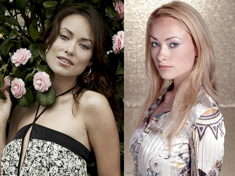 Оливия Уайлд из брюнетки в блондинку и еще 34 другие актрисы