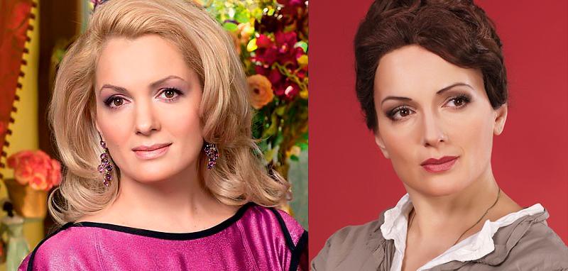 Мария Порошина из блондинки в брюнетку  и еще 34 другие актрисы