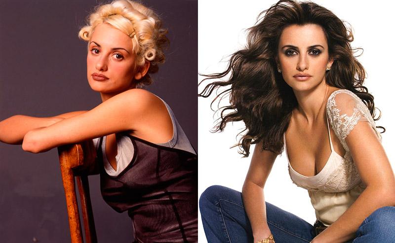 Пенелопа Крус из брюнетки в блондинку и еще 34 другие актрисы