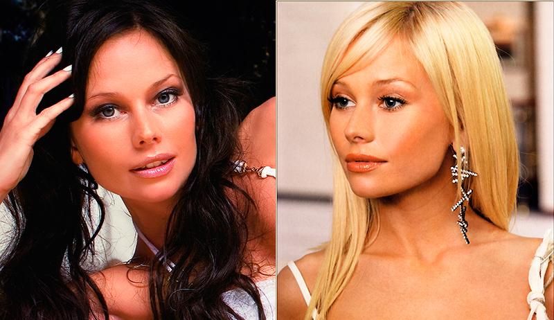 Елена Корикова из блондинки в брюнетку и еще 34 другие актрисы