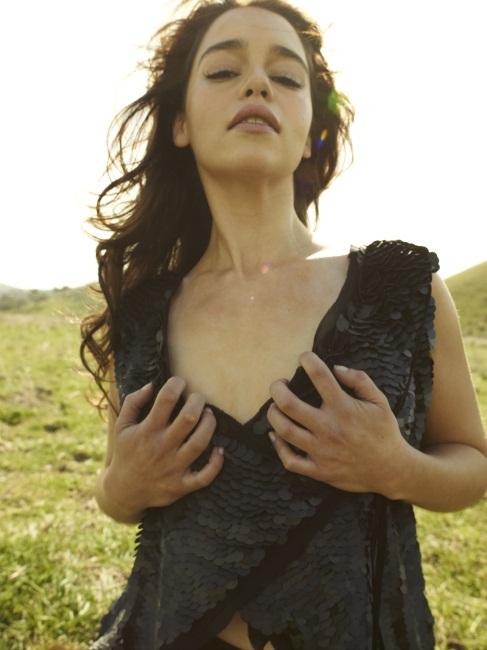 Эмилия Кларк 2011 год для Rolling Stone Magazine