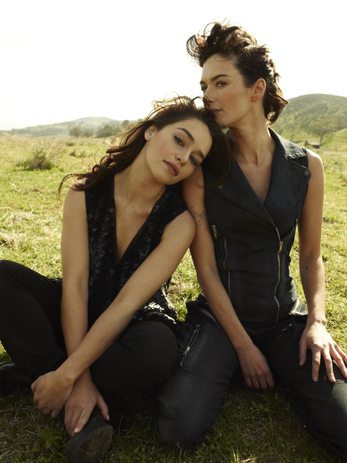 Эмилия Кларк и Лина Хиди 2011 год для Rolling Stone Magazine