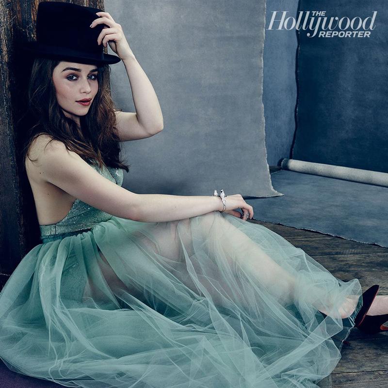 Эмилия Кларк - фотосессия 2015 год для журнала Hollywood reporter
