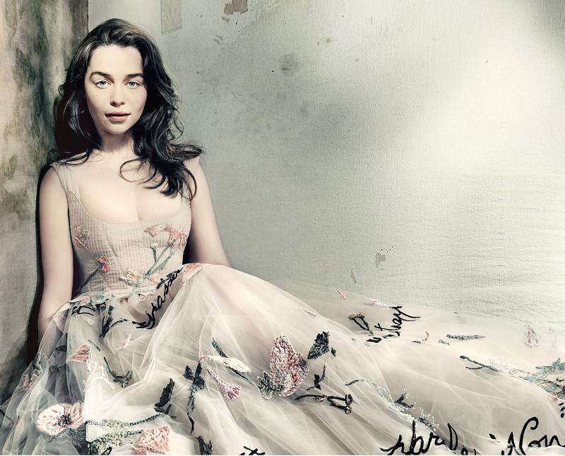 Эмилия Кларк — фотосессия для VOGUE UK 2015 год