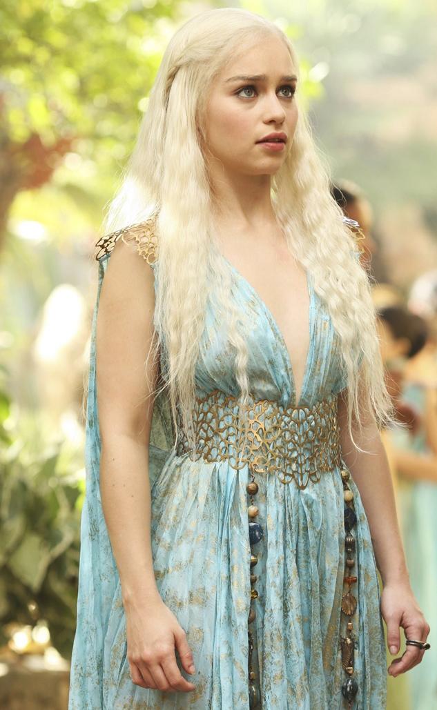 Дейнерис Таргариен в самом красивом платье