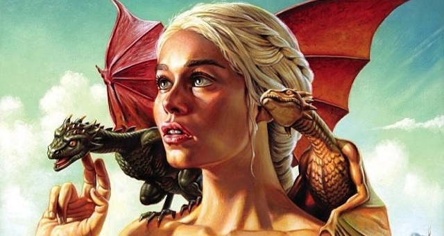 Матерь драконов Эмилия Кларк