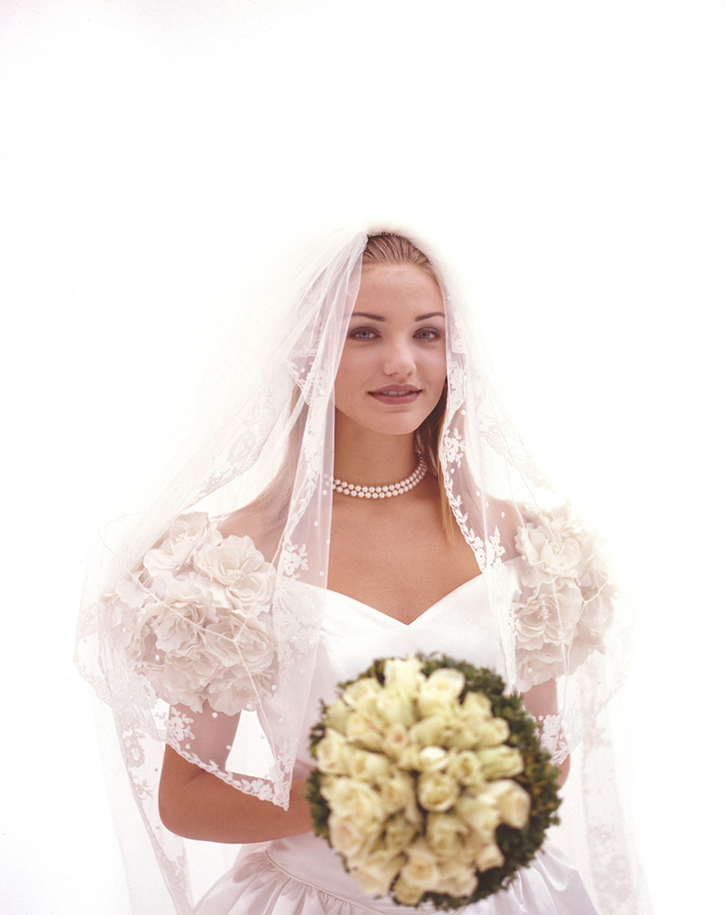 Кэмерон Диаз фото в свадебном платье