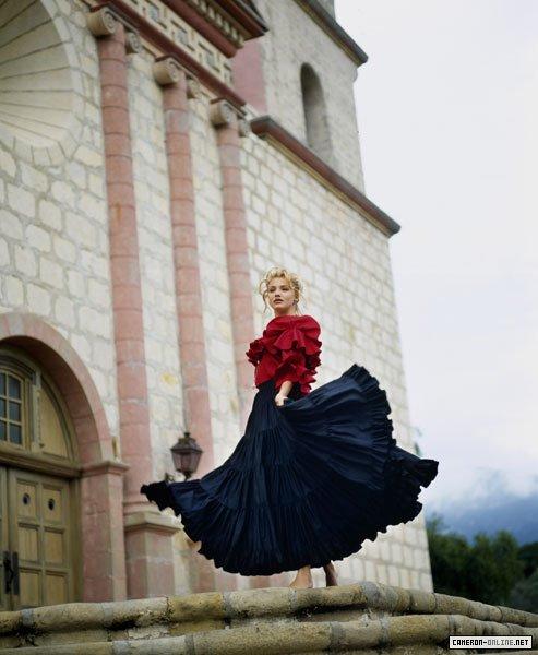 Кэмерон Диаз фото молодая в платье