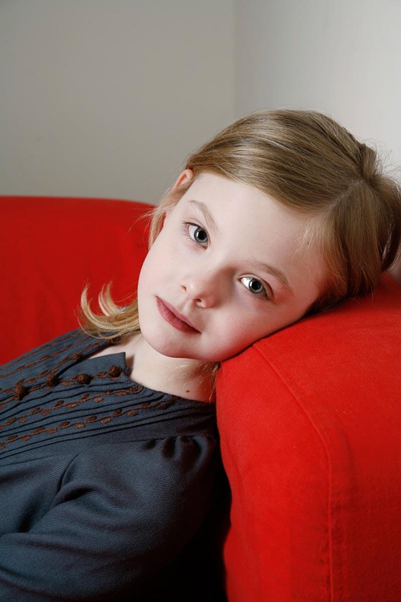 10 фото Эль Фаннинг в детстве