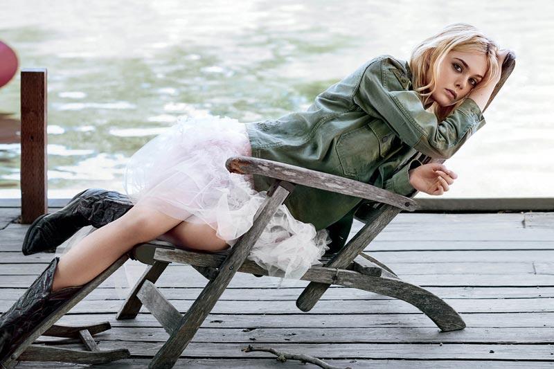 Эль Фаннинг 50 лучших, качественных фото из фотосессий разных лет