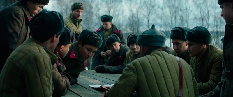 Актеры и кадры из фильма «28 панфиловцев»