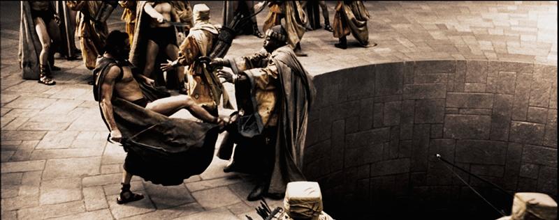 """Джерард Батлер в роли царя Леонида фильм """"300 спартанцев"""""""