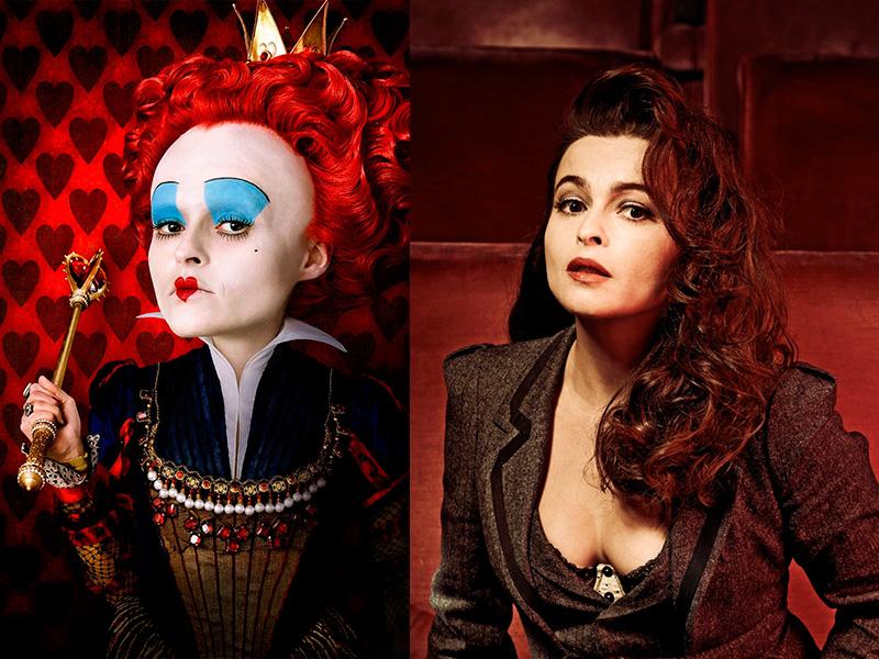Алиса в стране чудес 2010 актеры, персонажи, главные герои ... Червонная Королева Хелена