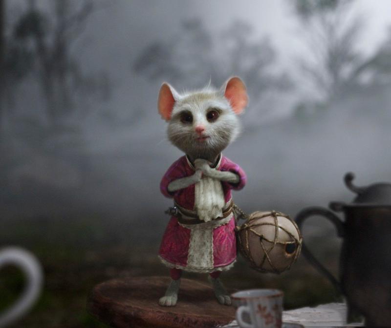 """Мышь Соня из """"""""Алисы в Стране чудес"""""""