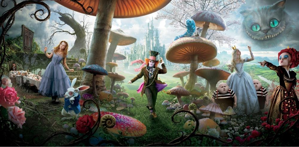 """""""Алиса в стране чудес"""" 2010: актеры и их персонажи, главные герои, краткое содержание"""