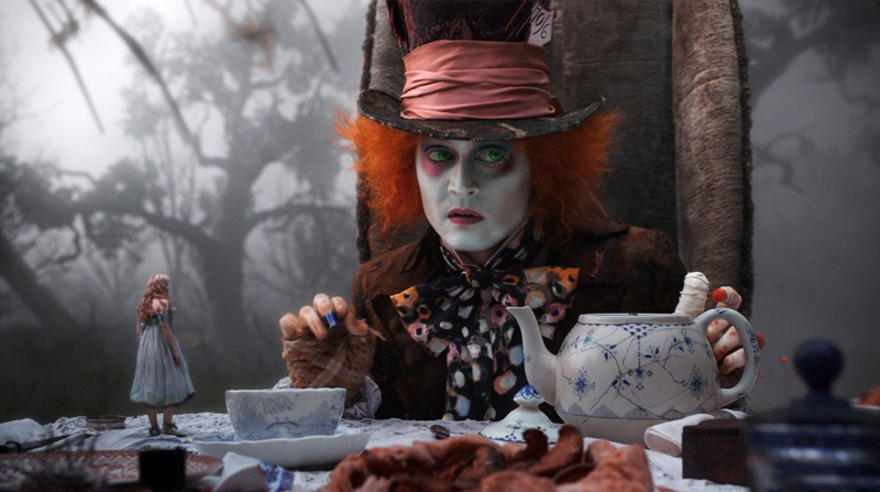 """""""Алиса в стране чудес"""" 2010: актеры и их персонажи, главные герои, краткое содержание Шляпник"""