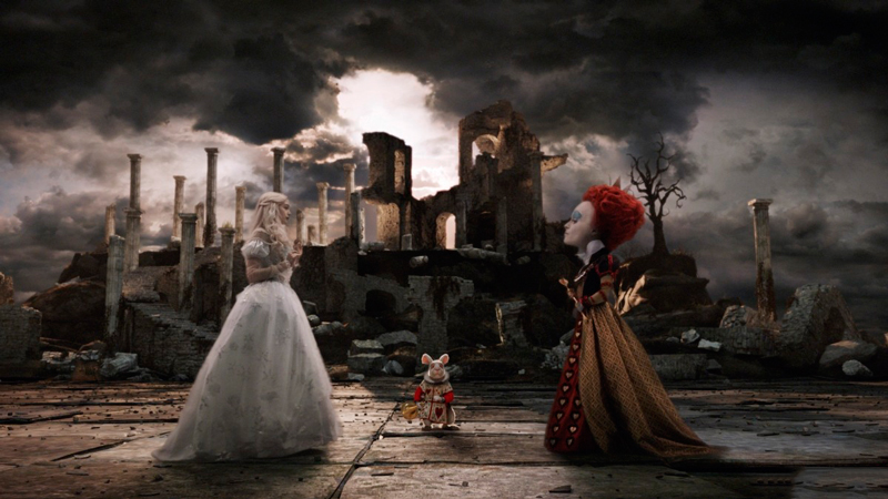Белая королева и Красная королева алиса в стране чудес
