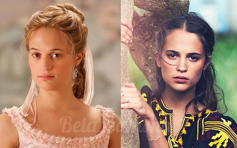Актриса из блондинки в брюнетку 40 вариантов Алисия Викандер