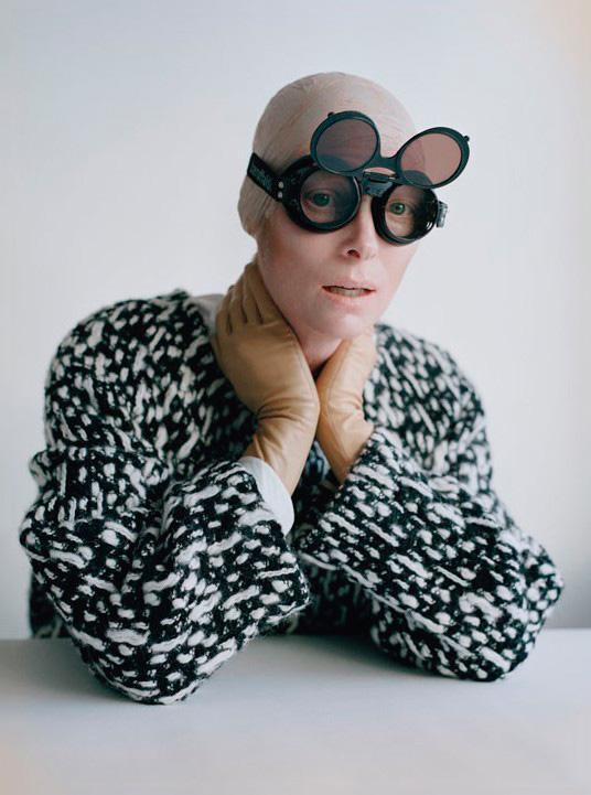 Тильда Суинтон - 67 лучших качественных фото из фотосессий разных лет