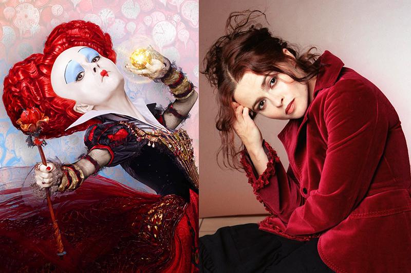 Хелена Бонэм-Картер  «Алиса в Зазеркалье» Ирацибета Мрамореальская – Красная Королева