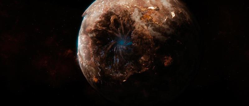 """гибель планеты Вулкан """"Звездный путь"""" 2009"""