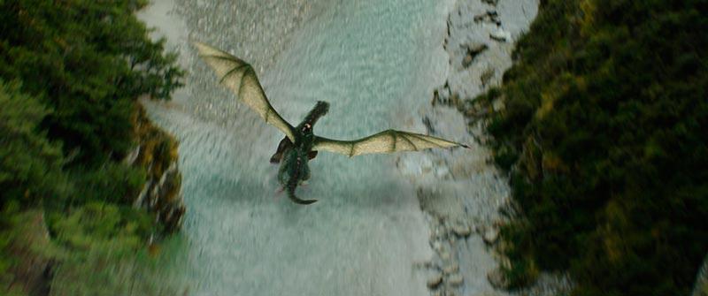 """Эллиот - дракон из фильма """"Пит и его дракон"""""""