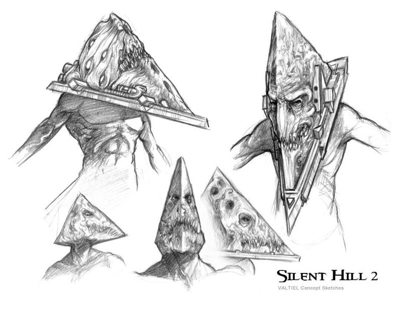Красная Пирамида Сайлент Хилл концепт