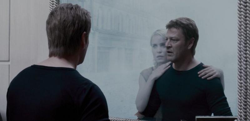 Гарри Кристофер видит Роуз в зеркале Сайлент Хилл