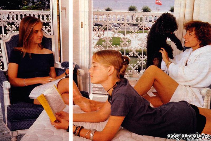 Сестра двойняшка Евы Грин Джой - 40 фото