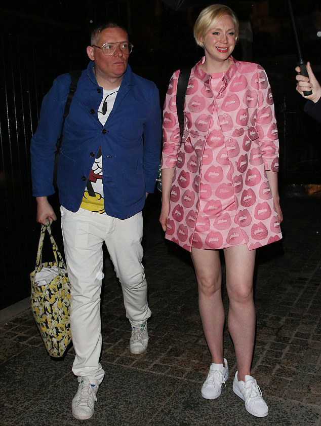 Гвендолин Кристи и ее парень