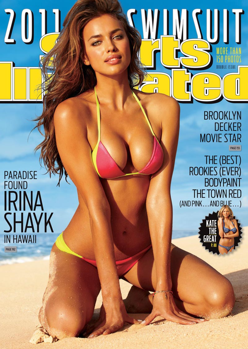 Ирина Шейк на обложку журнала Sports Illustrated Swimsuit Issue