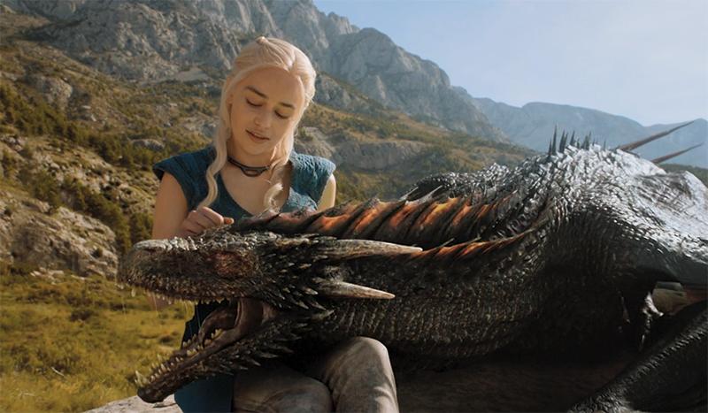 Кхалиси и драконы