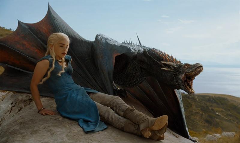 Дейнерис Таргариен Игра Престолов драконы