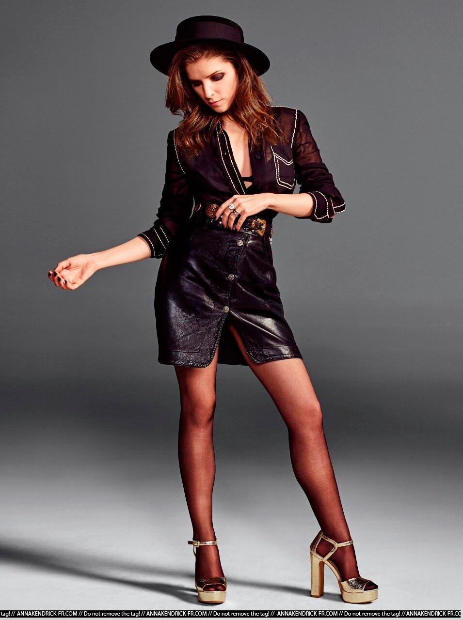 Анна Кендрик в платье фото 2015 год фотосессия