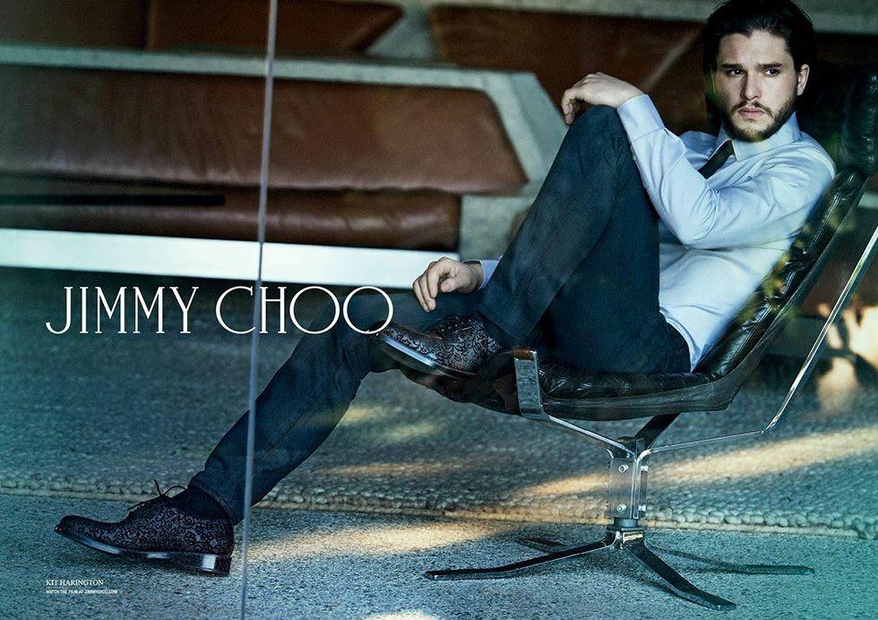 Кит Харингтон для Jimmy Choo 2014