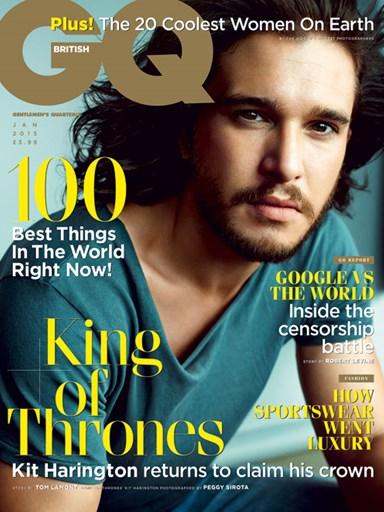 Кит Харингтон фотосессия для журнала GQ декабрь 2014