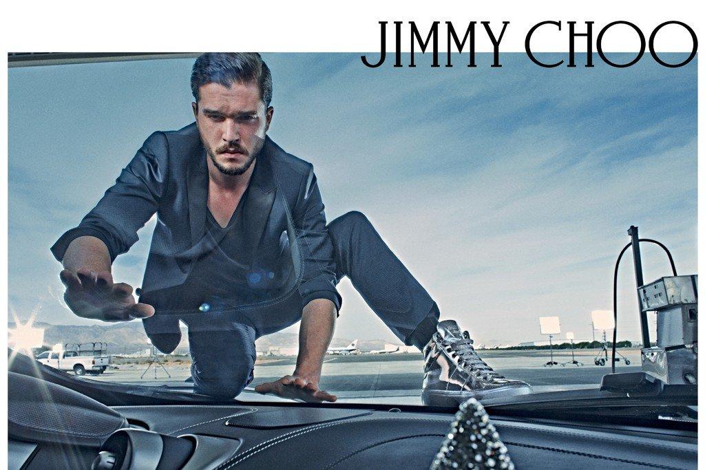 Кит Харрингтон в для Jimmy Choo 2015