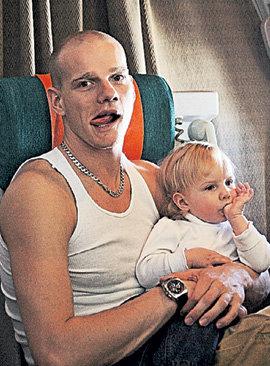 Юрий Колокольников с дочерью