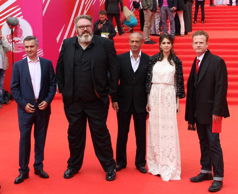 Кристиан Нэйрн на Московском кинофестивале 19 июня 2014